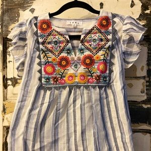 Anthropologie THML.  Blouse